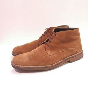 Johnston & Murphy Tan Suede Dress Shoes 9.5